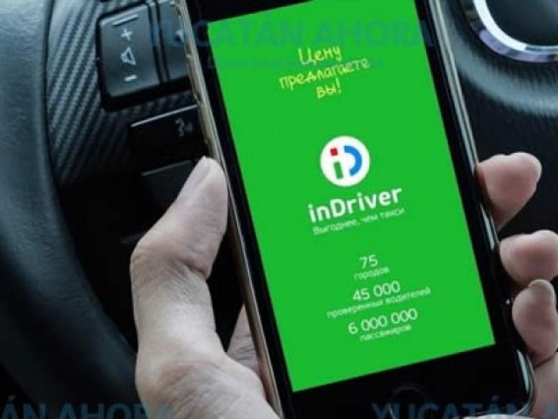 Por falta de registro oficial, InDriver quedará fuera de operaciones