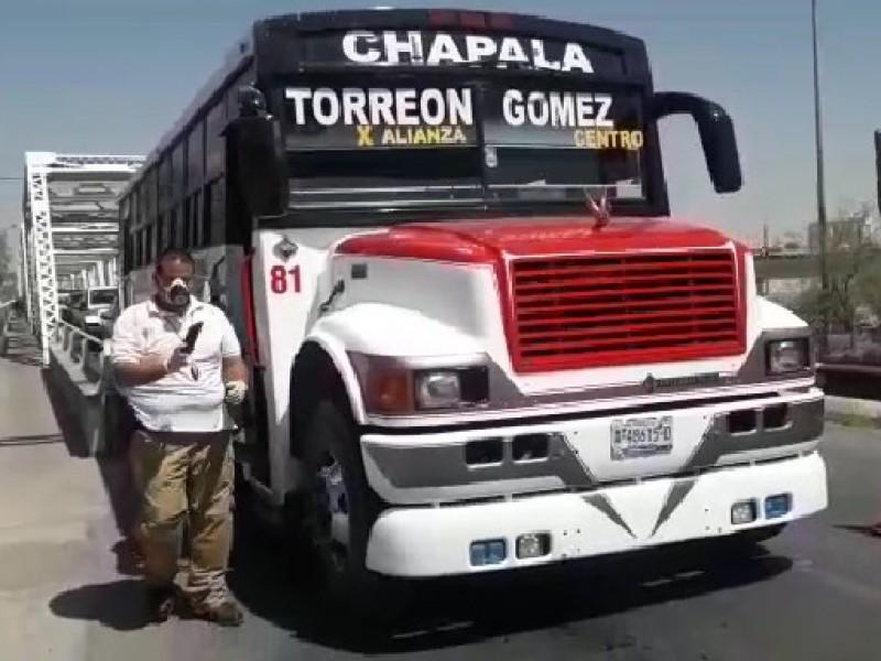 Por filtros sanitarios gomezpalatinos ingresan a Torreón a pie