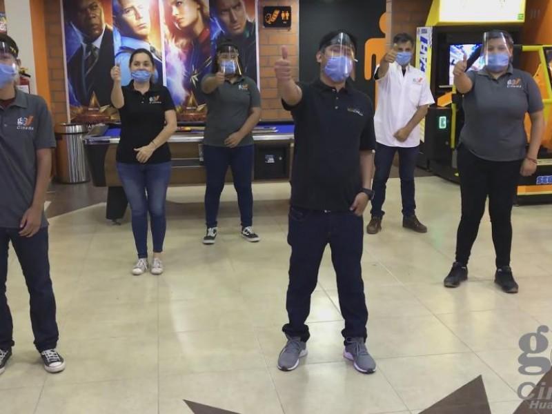 ¡Por fin! Este día abren gimnasios y cine en Huatabampo