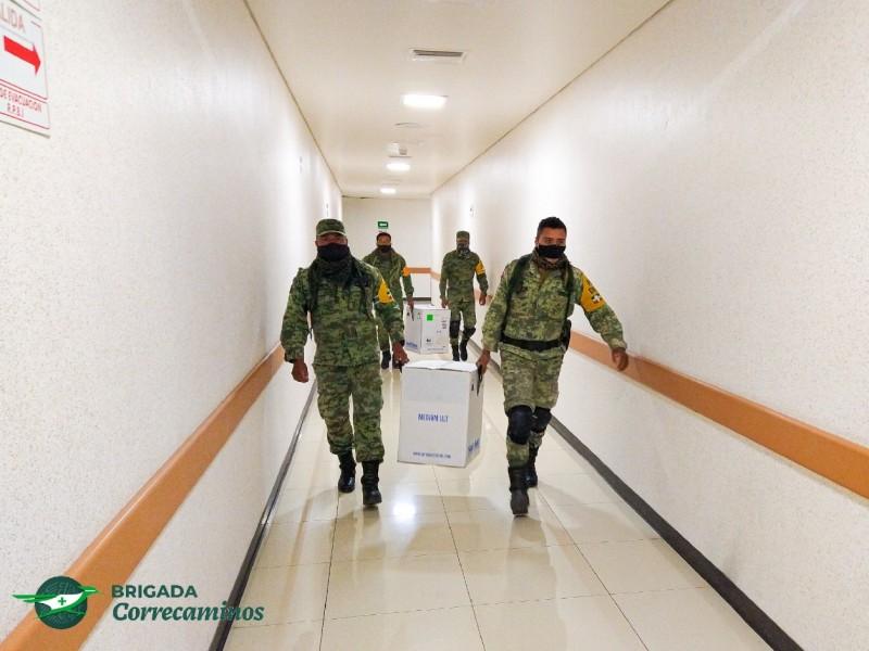 ¡Por fin! Llegan vacunas anticovid para Manzanillo y Colima