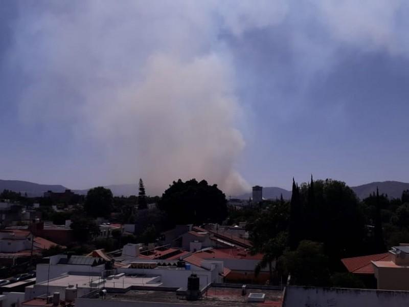 Por incendio se activa Alerta Atmosférica en Zapopan
