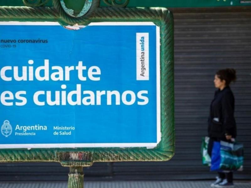 Por incremento Covid-19, Argentina anuncia cuarentena estricta de 9 días