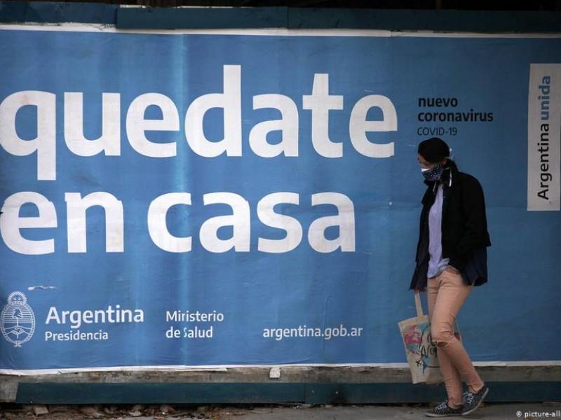Por incremento Covid-19, Argentina decreta nuevas y estrictas restricciones