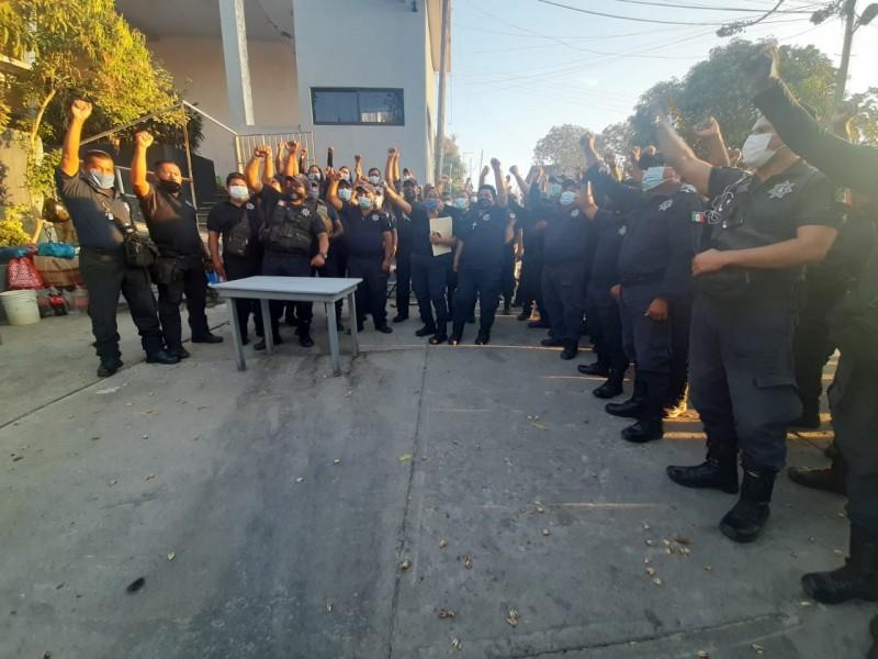 Por incumplimiento de acuerdos y salario, policías podrían retomar protestas
