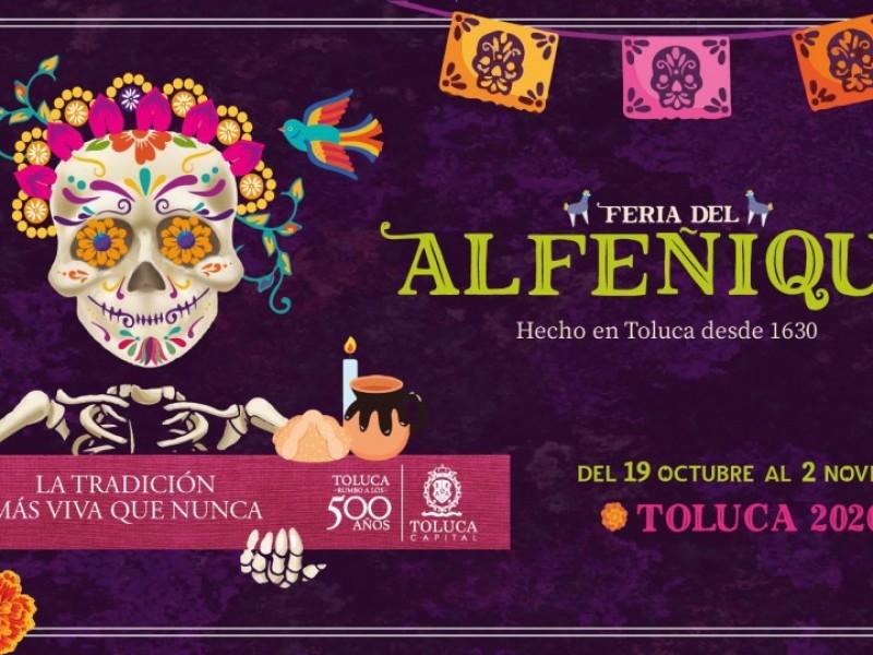 Por iniciar la Feria del Alfeñique en Toluca