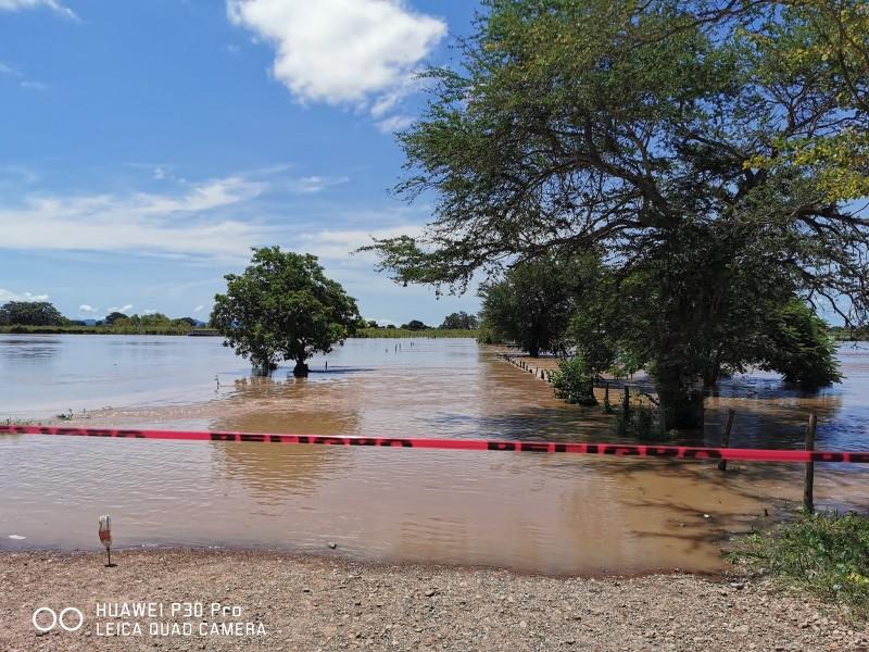 Por lluvias, mantiene seguridad operativo en zonas norte y sur