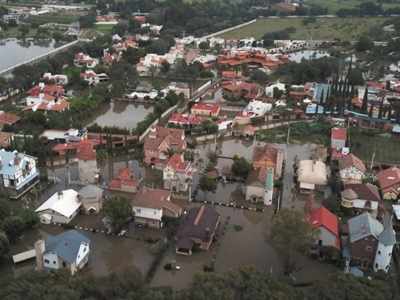 Por lluvias, Sedena activa el Plan DN-III en Tequisquiapan
