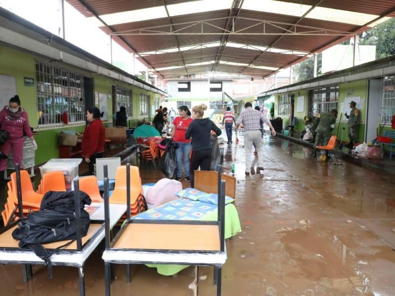 Por lluvias Segob declara emergencia en Morelia