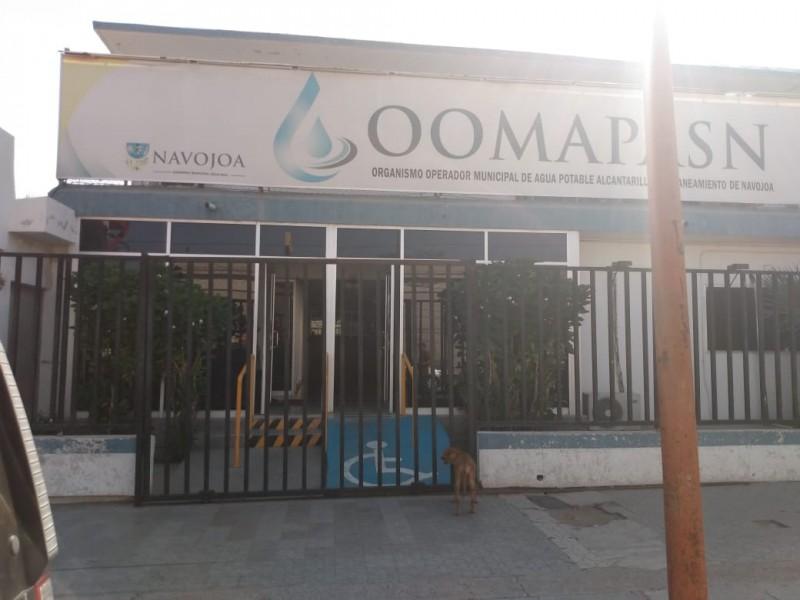 ¡Por morosos! CFE deja sin luz a oficinas de OOMAPASN