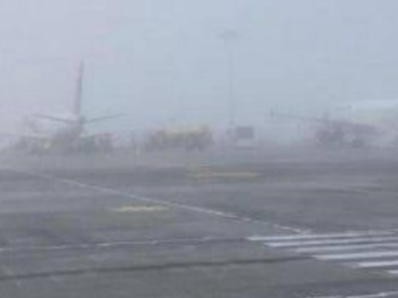 Por niebla suspenden vuelos en Aeropuerto de GDL
