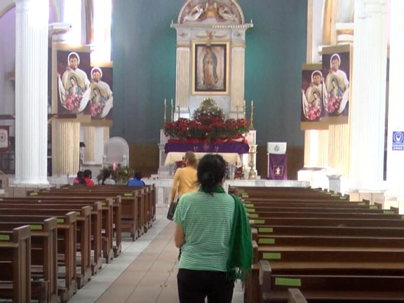 Por pandemia, celebración a la virgen de Guadalupe será distinta