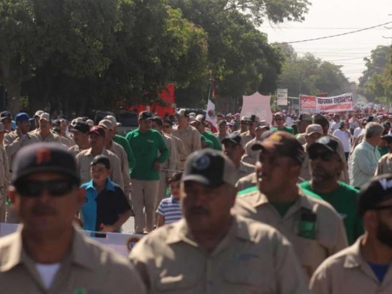 Por pandemia, suspenden desfile del día del trabajo