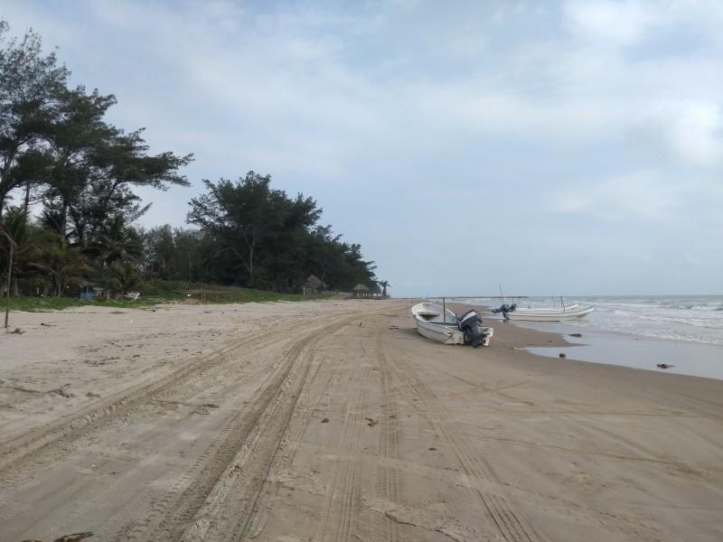 Por perdida de playa, solicitan acceso alterno
