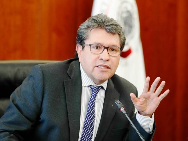 Por reformas, Ricardo Monreal llama a la reconciliación