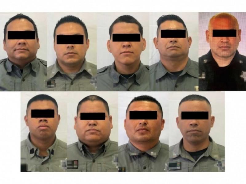 Por robo vinculan a proceso a 9 policías de Chihuahua