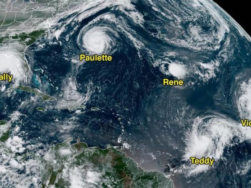Por segunda vez en la historia, agotan nombres para huracanes