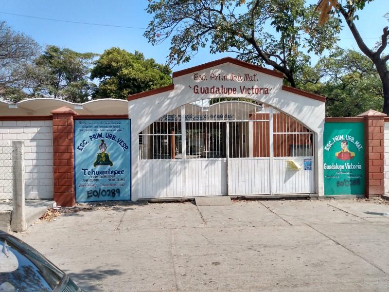 Por solicitud de tutores, escuela primaria Guadalupe Victoria suspende actividades