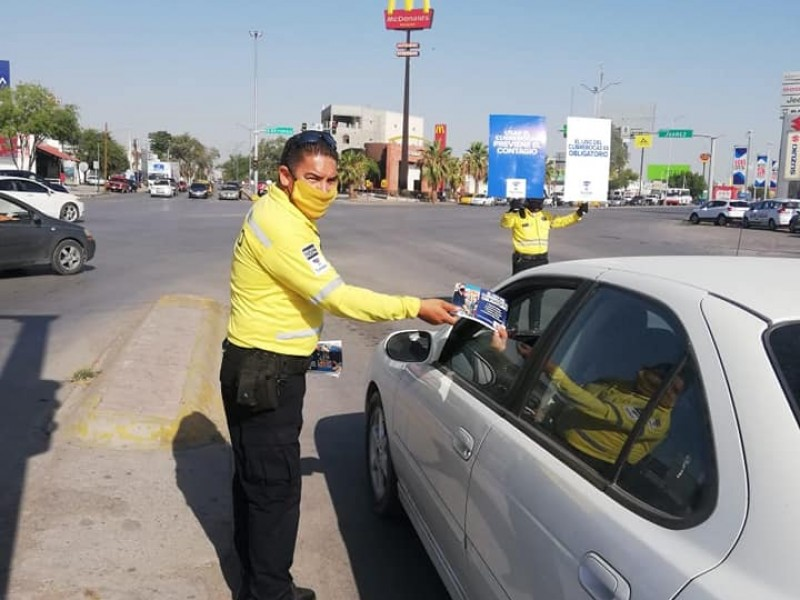 Por vacaciones, se registra baja movilidad en calles de Torreón