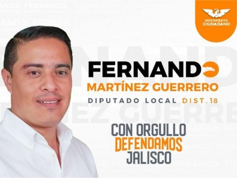Por violentador, 'Paritaristas' impugnarán candidatura a diputado de Fernando Martínez