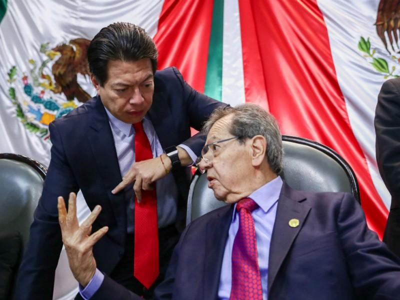 Porfirio Muñoz Ledo denuncia irregularidades en la tercera encuesta