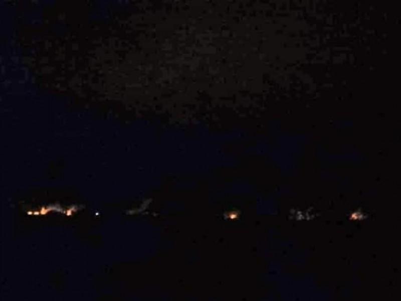 Posible incendio en ducto de PEMEX en Chivela