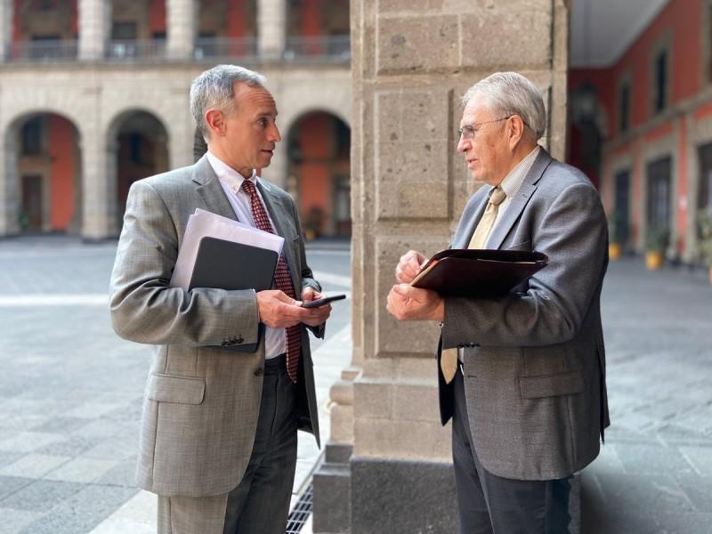 PRD exige comparecencia de López Gatell y Alcocer