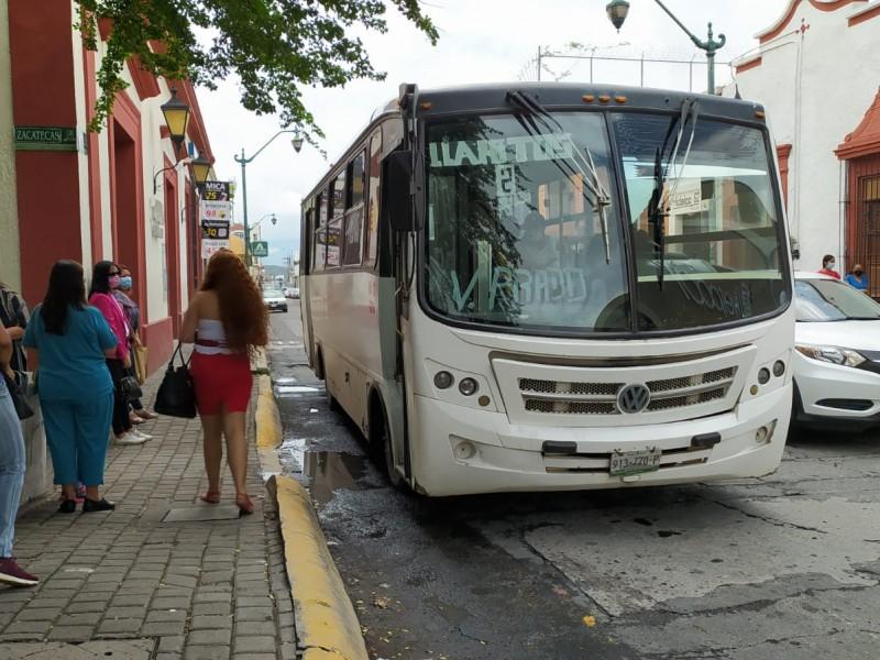 Precio del transporte debe reflejar calidad del servicio: Jorge Ortíz