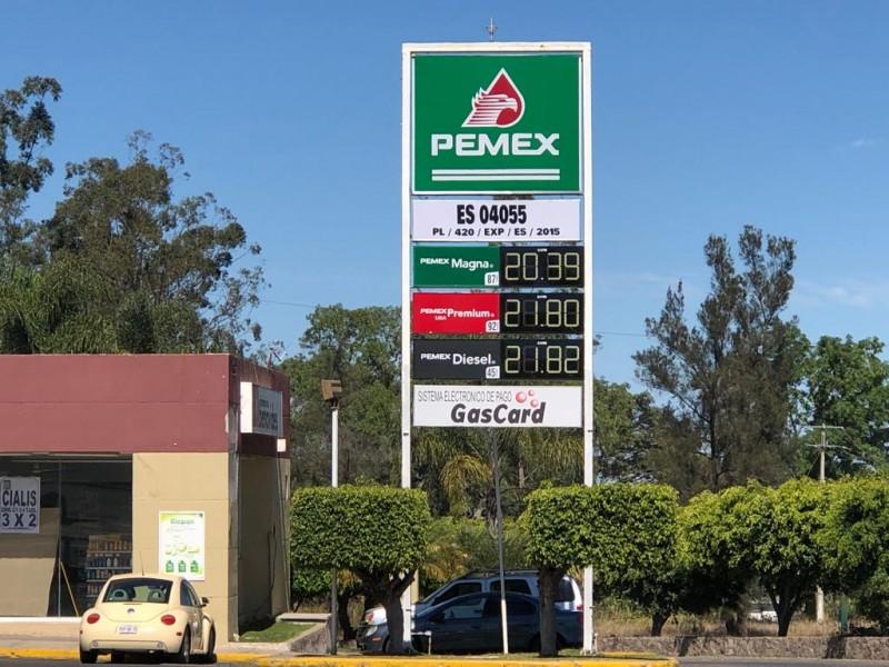 Precios de gasolina fluctúan luego del desabasto