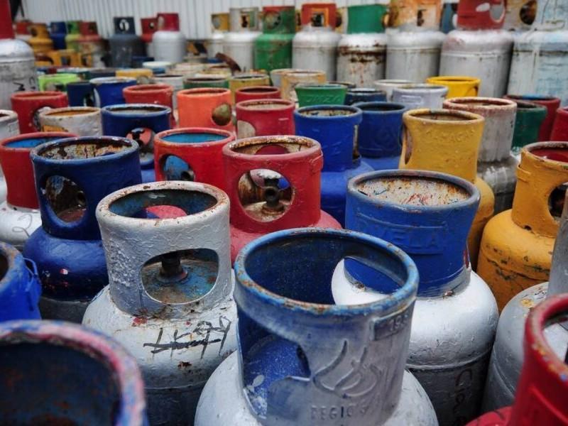Precio semanal del gas LP en el país