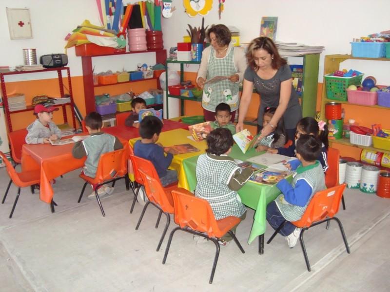 Preescolares en Coahuila recibirán niños de tres años