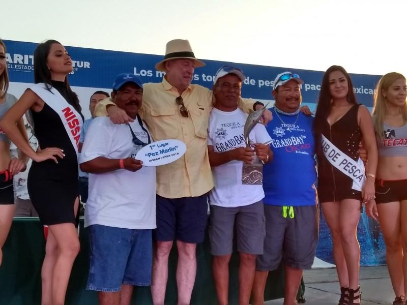 Premiación del Torneo de Pesca de San Blas