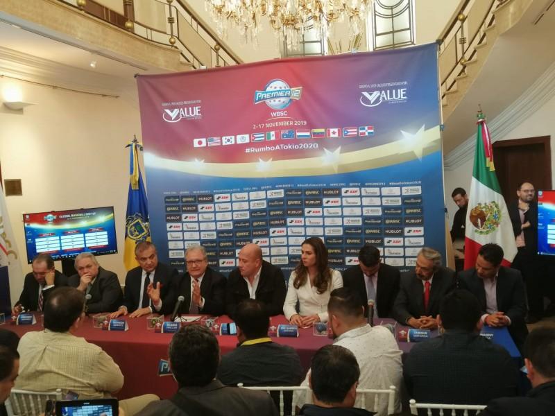 Premier 12 de béisbol se jugará en Guadalajara