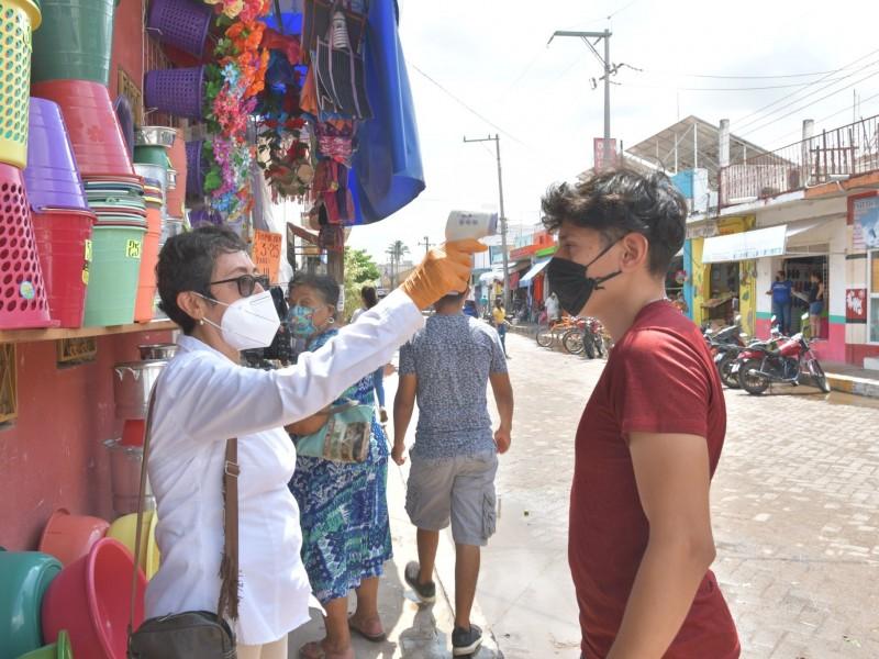 Preocupa cifra negra de COVID-19 a autoridades de Tecuala