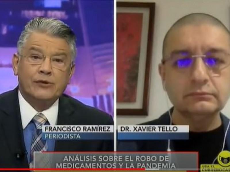 Preocupa falta de transparencia en adquisición de medicamentos: Xavier Tello