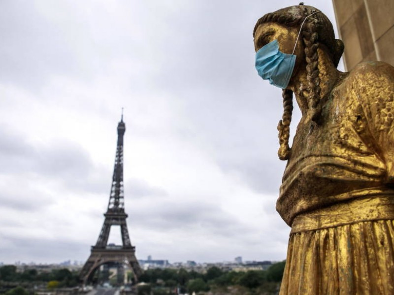 Preocupación en Francia tras romper récord de contagios diarios COVID