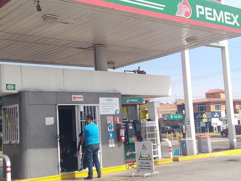 Preocupa a automovilistas desabasto de gasolina