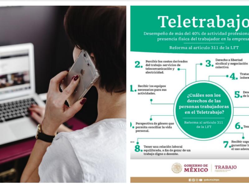 Preocupan nuevas obligaciones del Teletrabajo