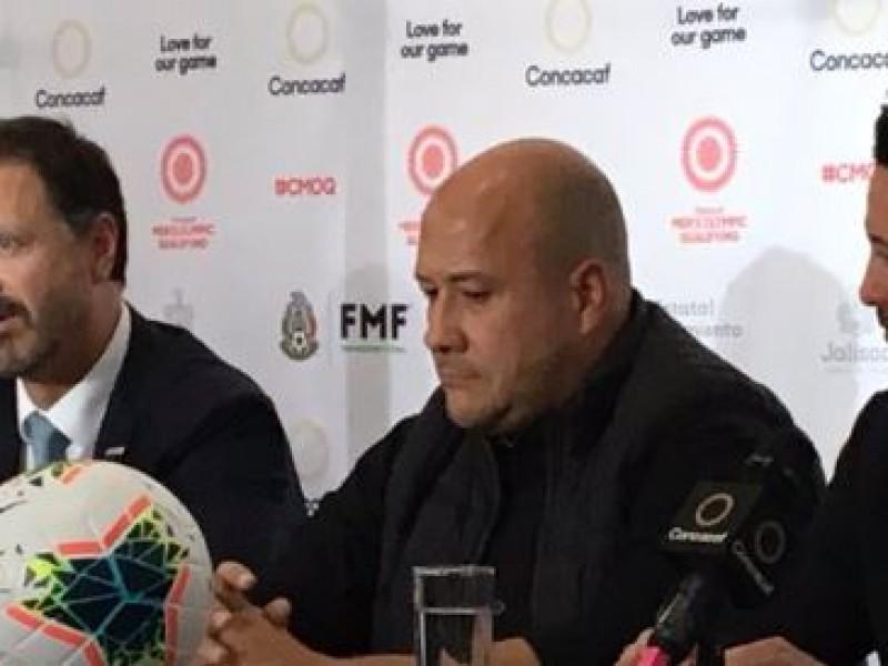 Preolímpico de Concacaf se celebrará en Guadalajara