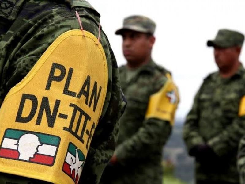 Prepara Gobierno Federal PLAN DNIII ante COVID-19