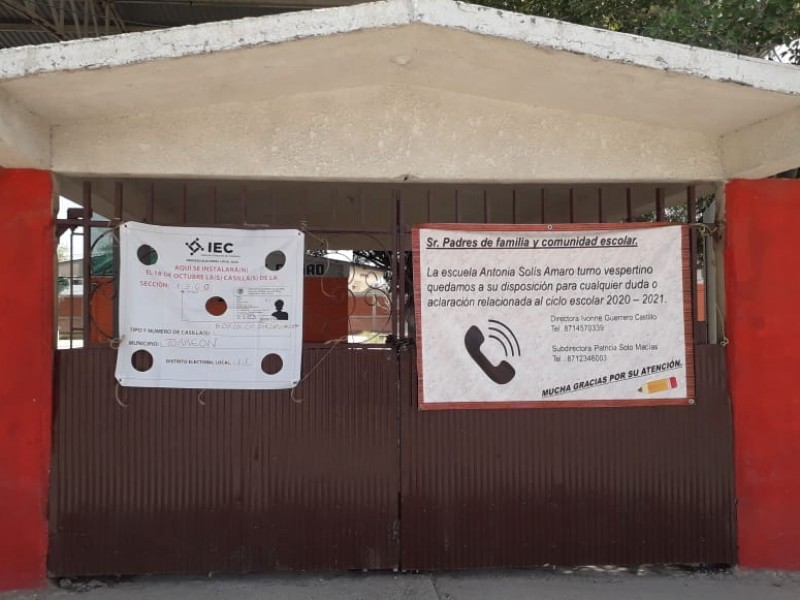 Prepara INE jornada electoral del domingo