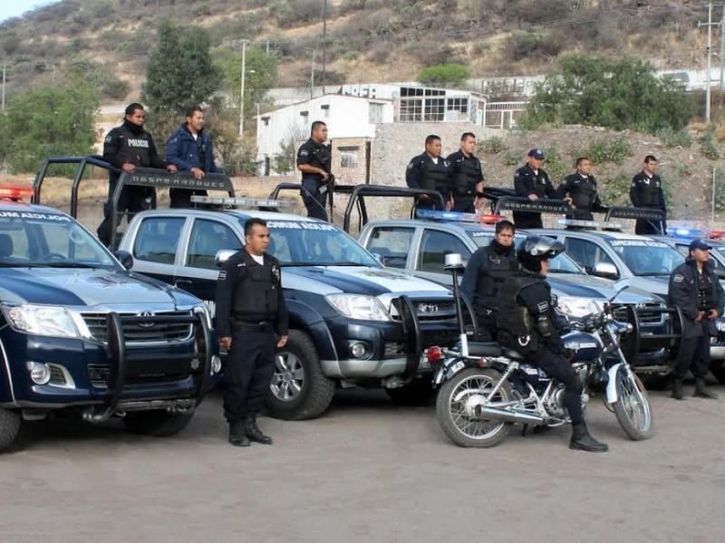 Prepara policía operativo decembrino conjunto