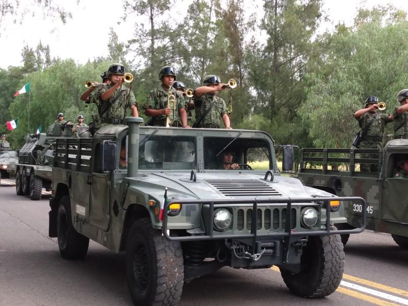 Prepara zona militar desfile del 16 de septiembre