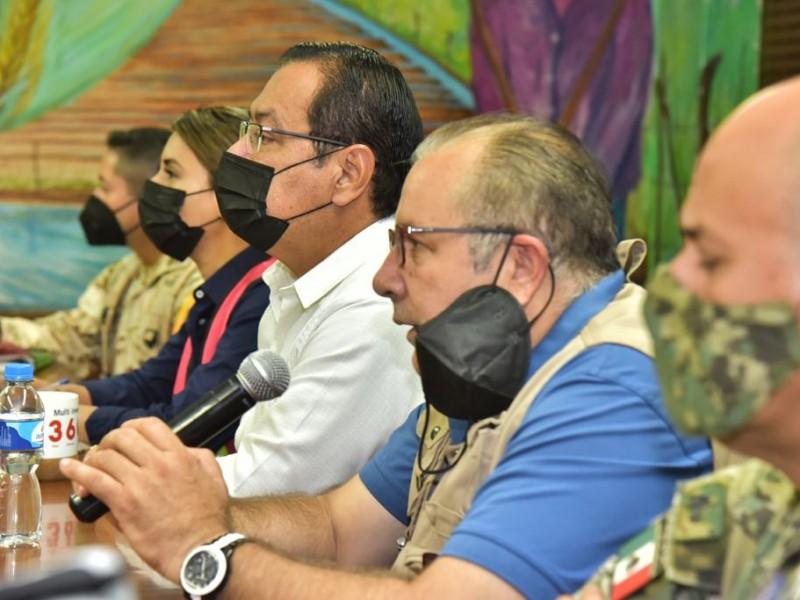 Preparan acciones de coordinación preventiva ante la proximidad del huracán