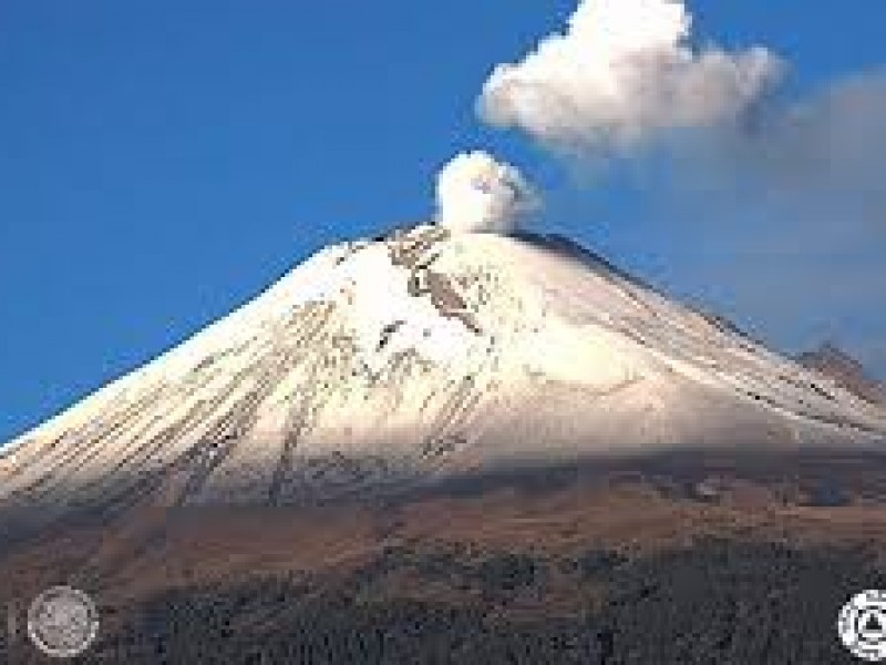 Preparan albergue por actividad de Popocatépetl