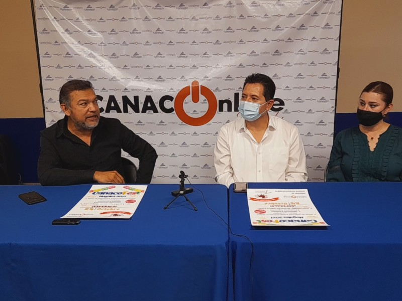 Preparan comerciantes CANACO FEST