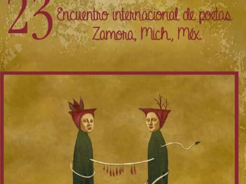 Preparan encuentro internacional de poetas en Zamora