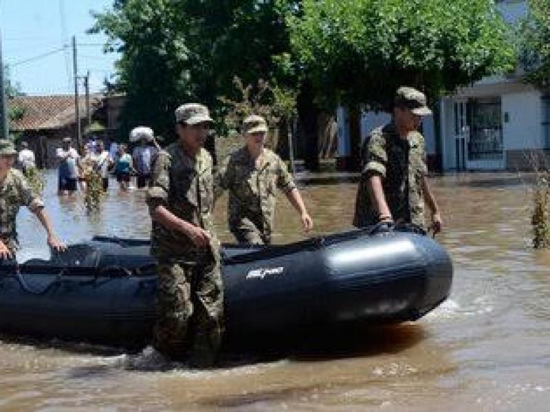 Preparan fuerzas armadas 5 equipos de reacción ante desastres naturales