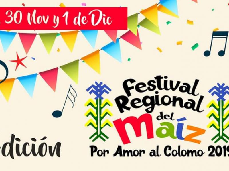 Preparan nueva edición del Festival Regional del Maíz