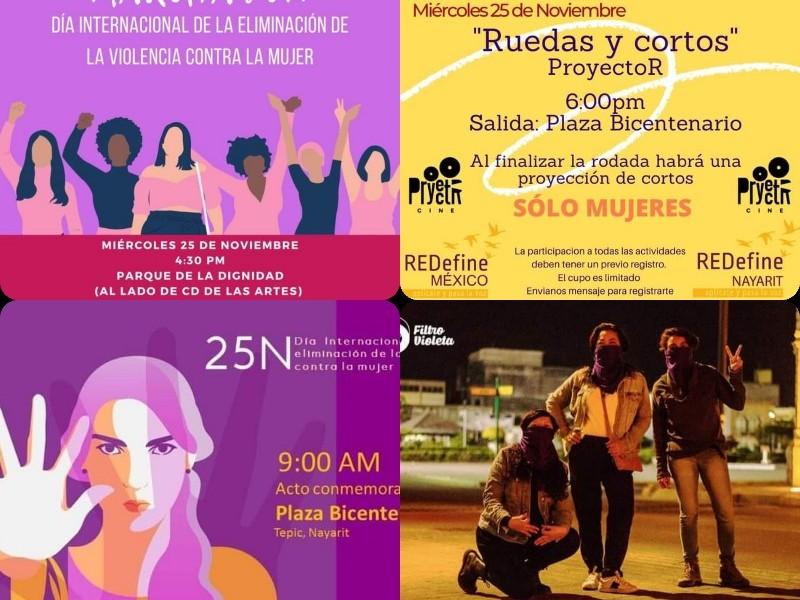 Preparan mujeres actividades por el 25 de noviembre