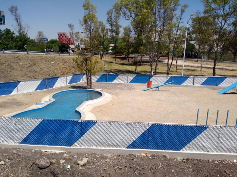 Preparan parques para mascotas en Corregidora